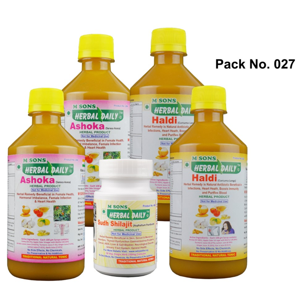 Female Infertility, Pcod With Thyroid Care Pack