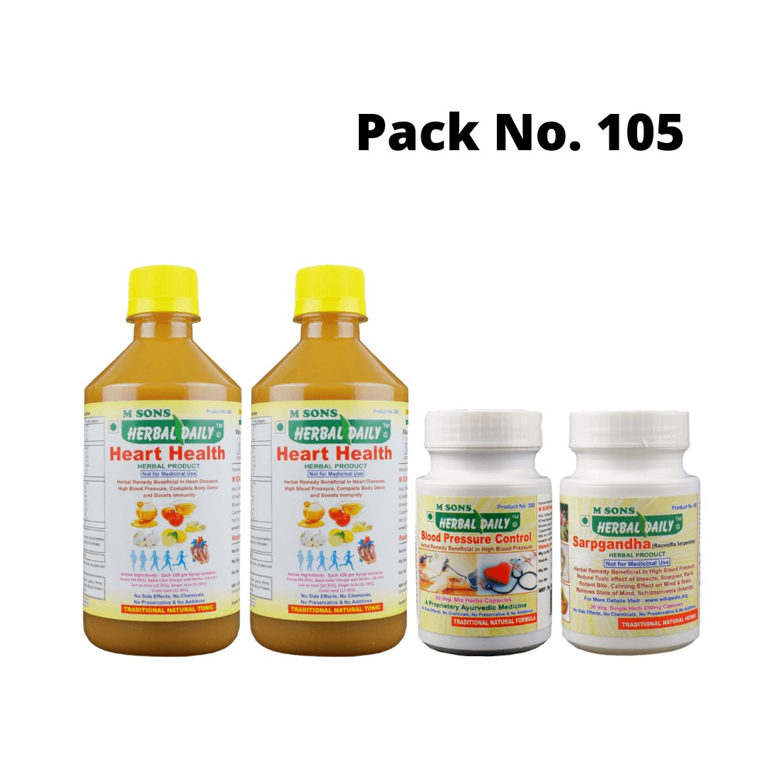 High Blood Pressure Relief Pack (hypertension)