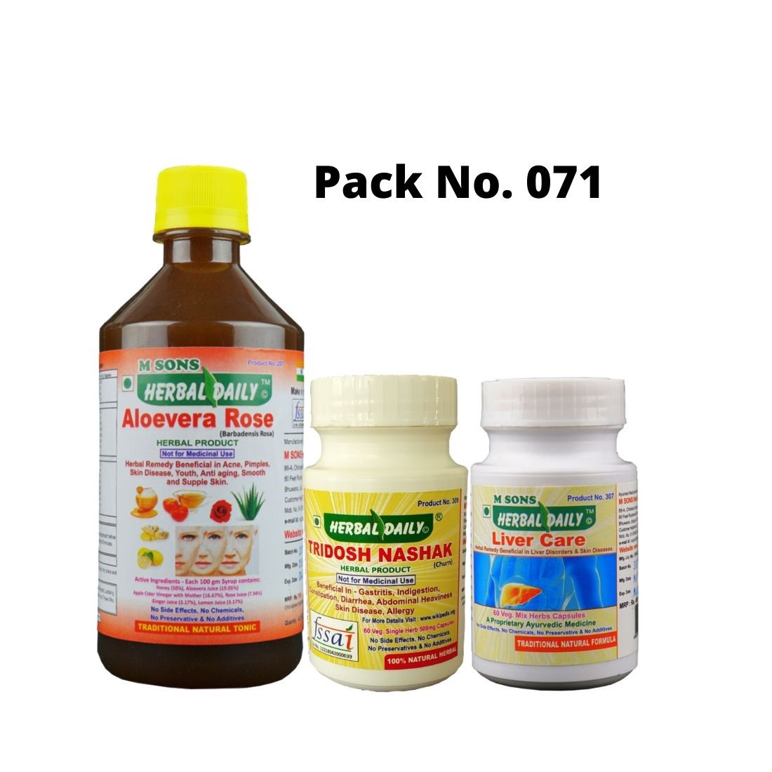 Acidity With Constipation And Acid Reflux Pack