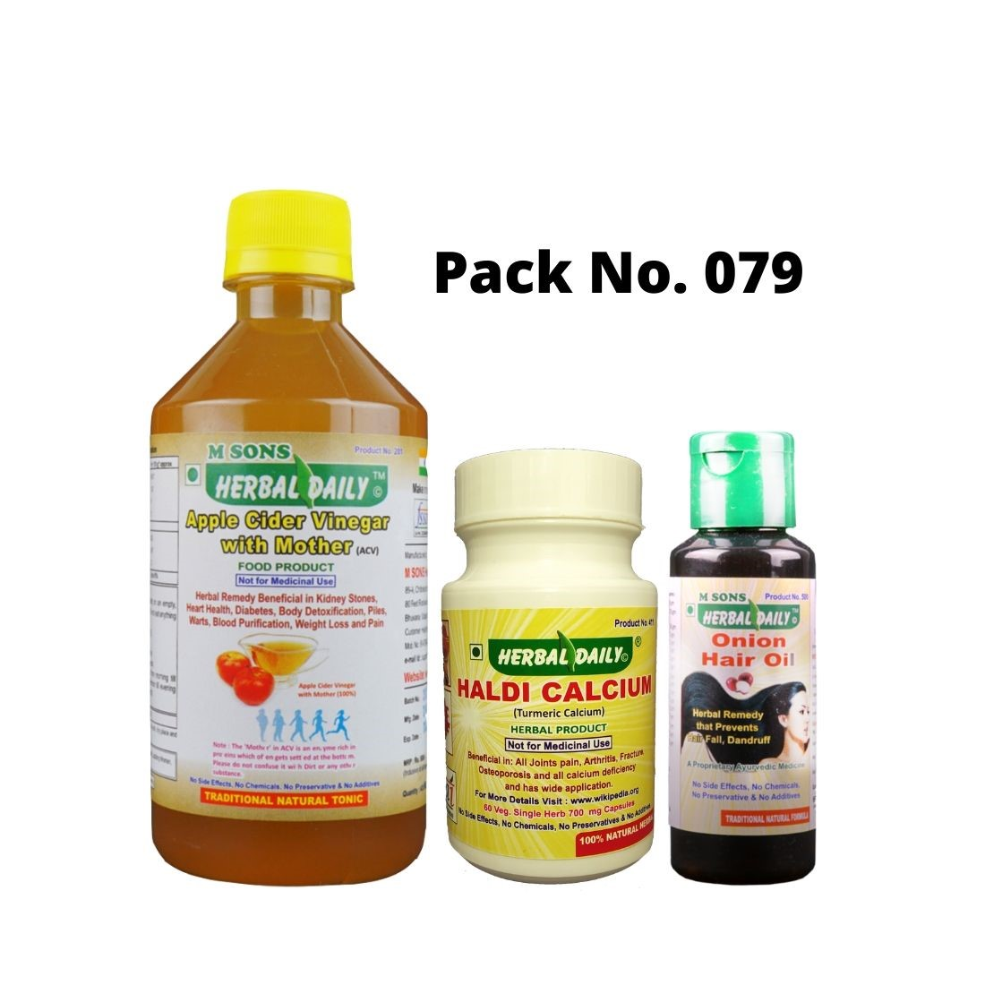 Hair Loss And Dandruff Care Pack