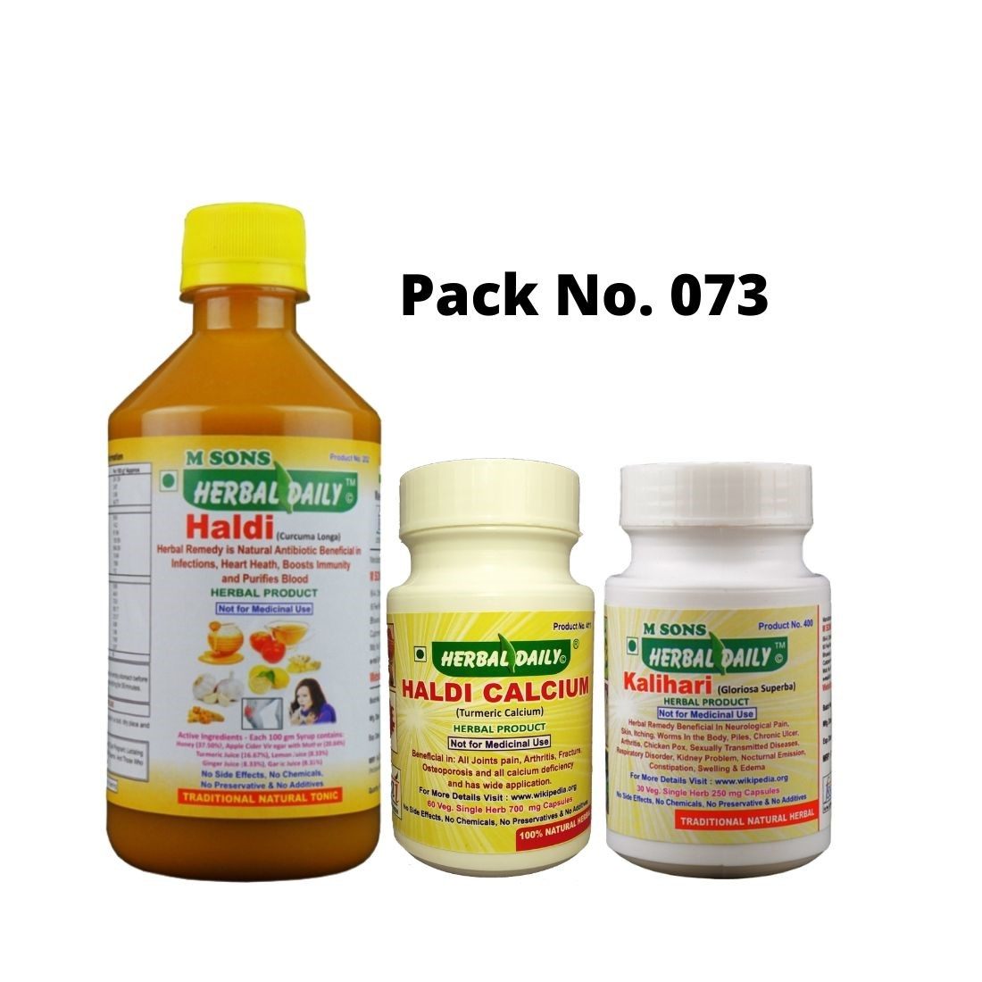 Back Pain Relief Pack