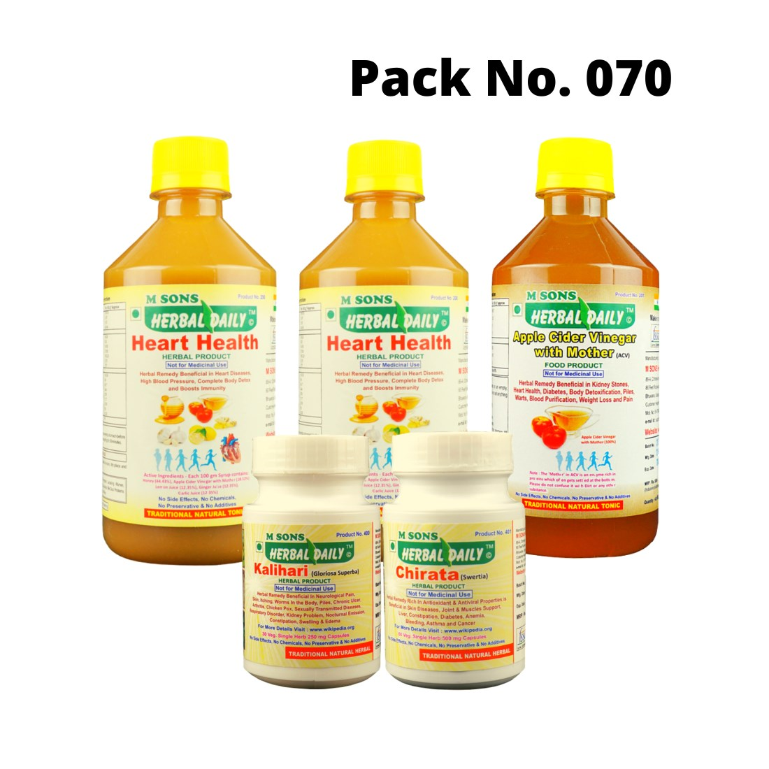 Heart Blockage Remover Pack